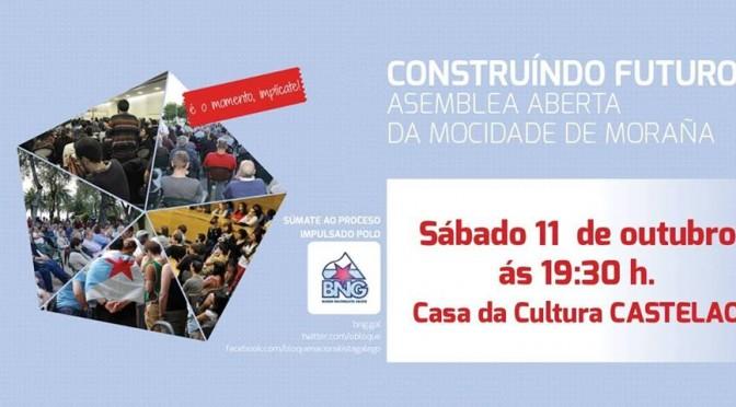 Hoxe: Asemblea Aberta coa Mocidade de Moraña