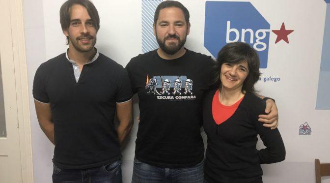 Rubén Fernández Monteagudo, reelixido responsábel local do BNG